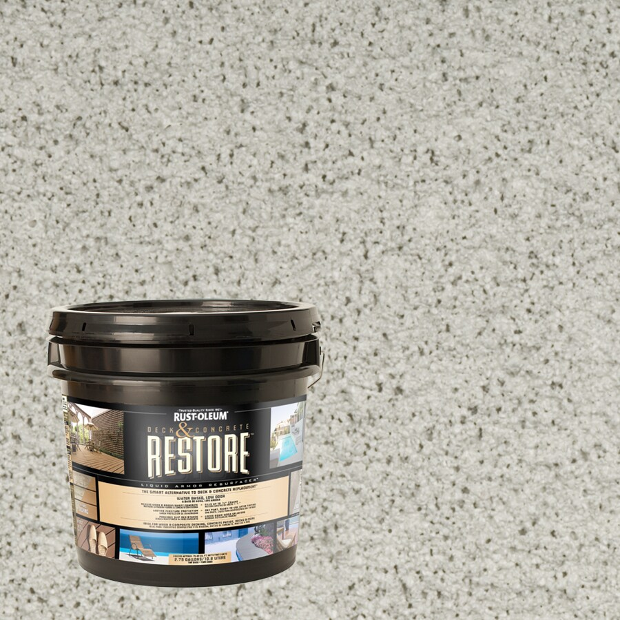 Restore Cape Cod Gray Solid Exterior Stain (Actual Net Contents: 384-fl oz)