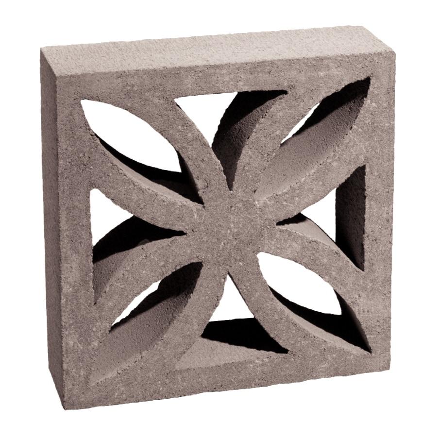 Shop Basalite Decorative Concrete Block Common 4 In X 12 In X 12 In Actual 3 5 In X 11 5 In