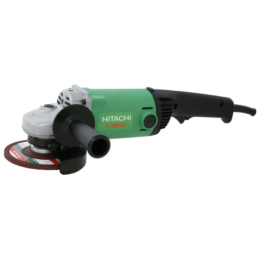 Hitachi 5-in 11-Amp Trigger Switch Corded Angle Grinder