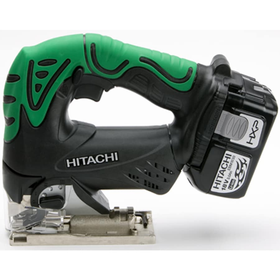Hitachi 18-Volt Keyless Cordless Jigsaw Battery Included