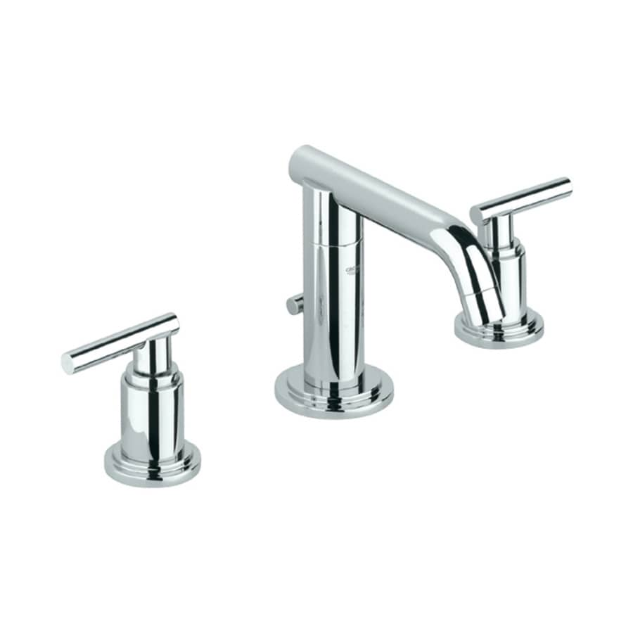 Shop GROHE Atrio Chrome 2-Handle Widespread WaterSense Bathroom Faucet ...