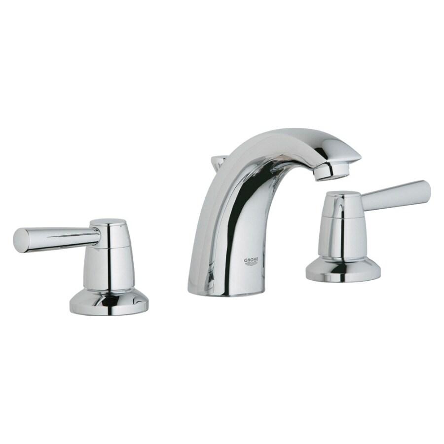 GROHE Arden Chrome 2-Handle Widespread Bathroom Faucet (Drain Included)