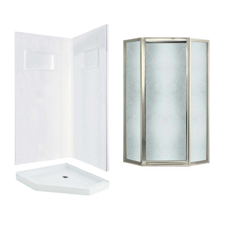 Direct To Stud Shower Door Utile By Maax 32 In X 48 In X