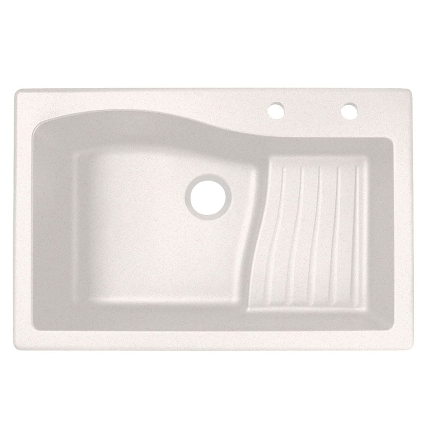 Undermount Kitchen Sink With Drainboard : ... Drop-In or Undermount 2-Hole Residential Kitchen Sink with Drainboard