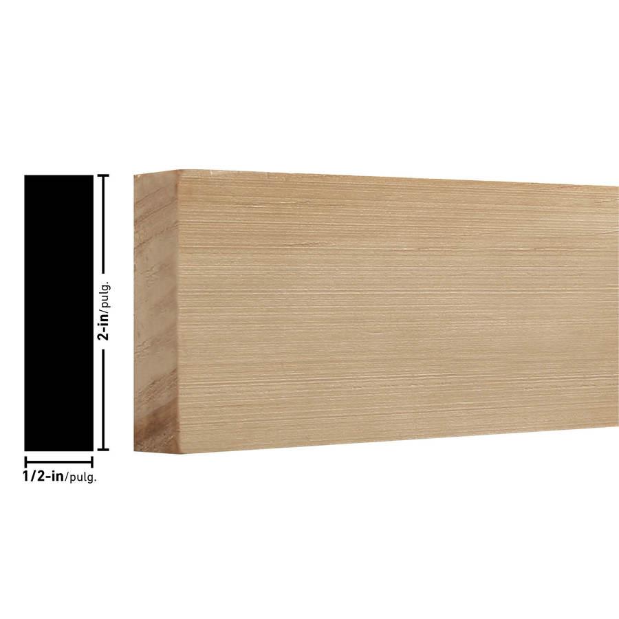 EverTrue Raw Pine Lattice Moulding (Common: 11/16-in x 1-3/4-in x 8-ft; Actual: 0.688-in x 1.75-in x 8-ft)