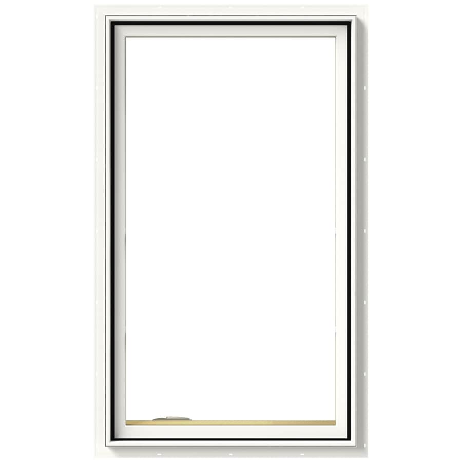 JELD-WEN Tradition 1-Lite Aluminum-Clad Double Pane Annealed New Construction Casement Window (Rough Opening: 24.75-in x 36.75-in Actual: 24-in x 36-in)