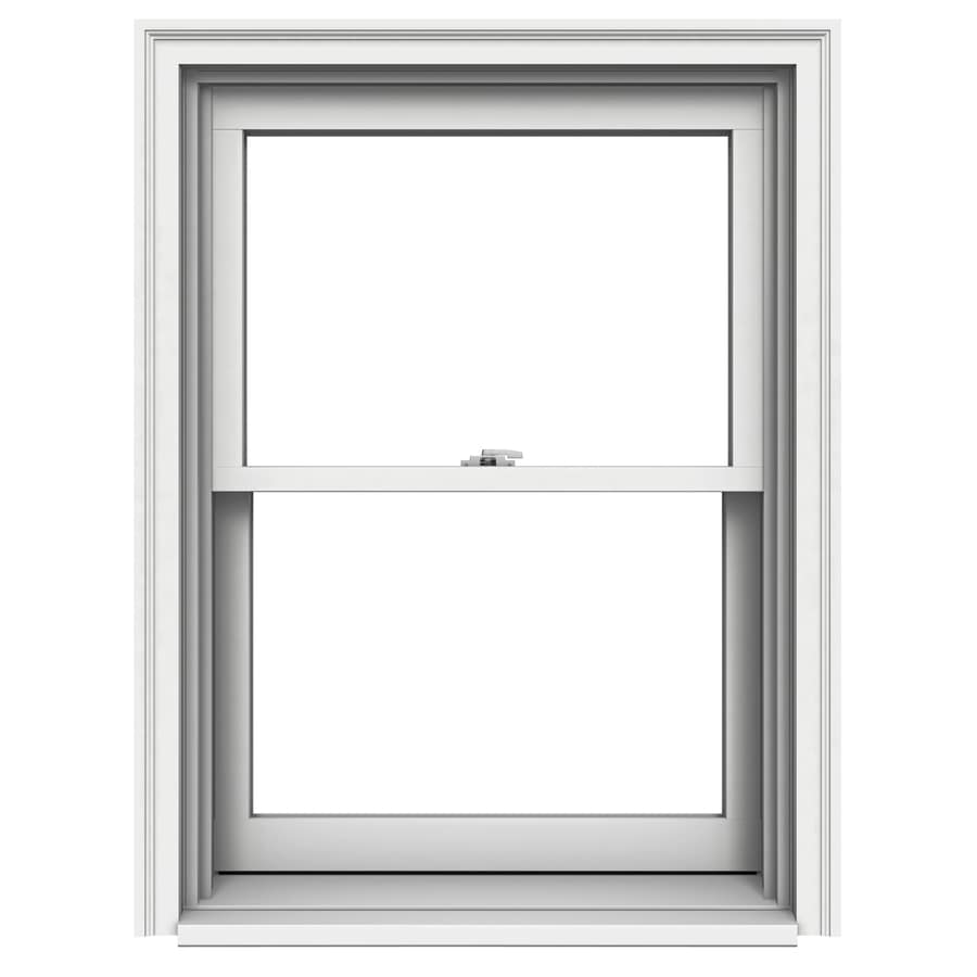 JELD-WEN Premium Wood Double Pane Annealed Double Hung Window (Rough Opening: 30.125-in x 41.25-in; Actual: 29.375-in x 40.5-in)