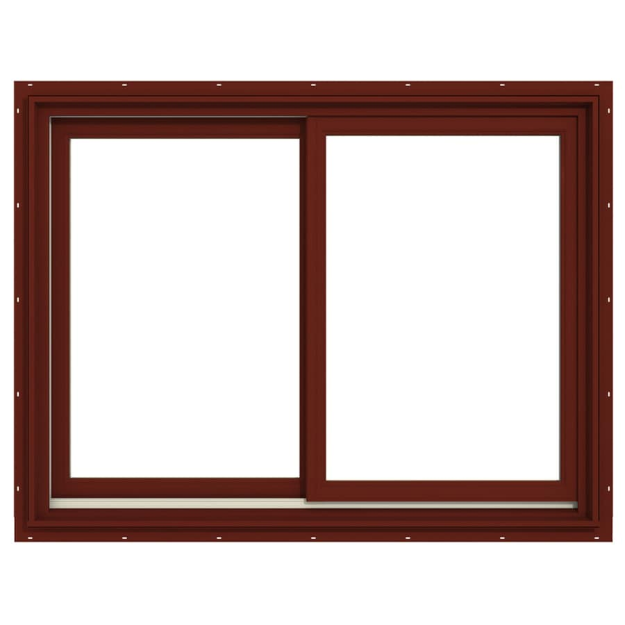 JELD-WEN Premium Both-Operable Aluminum-Clad Double Pane Annealed Sliding Window (Rough Opening: 48.063-in x 36.563-in; Actual: 47.313-in x 35.563-in)