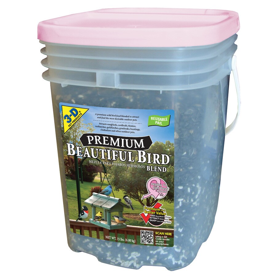 3-D 15-lbs Cardinal and Songbird Blend Bird Seed