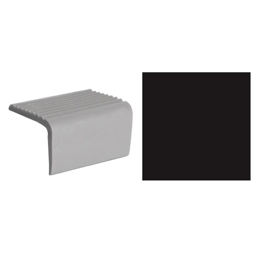 FLEXCO 5-Pack Black Dahlia Top Set Square Stair Nosings