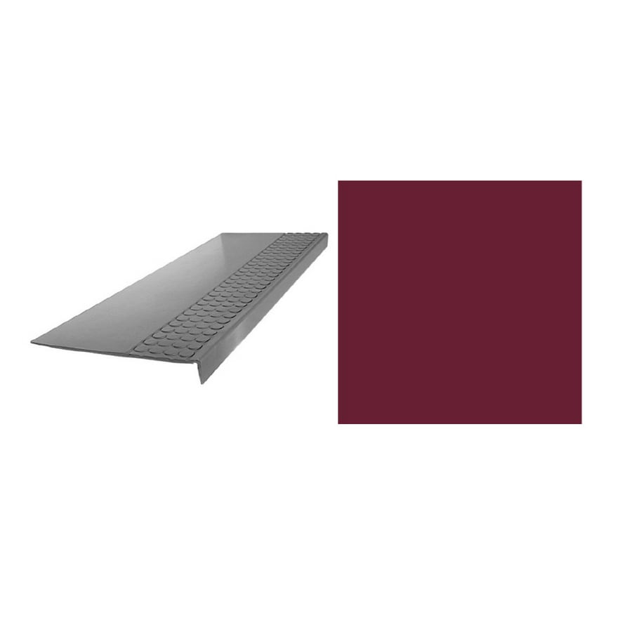 FLEXCO 12-1/4-in x 36-in Berry Stair Nose Moulding