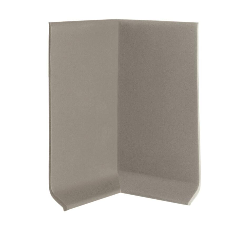 FLEXCO 30-Pack 4-in W x 0.25-ft L Stone Rubber Inside Corner Wall Base