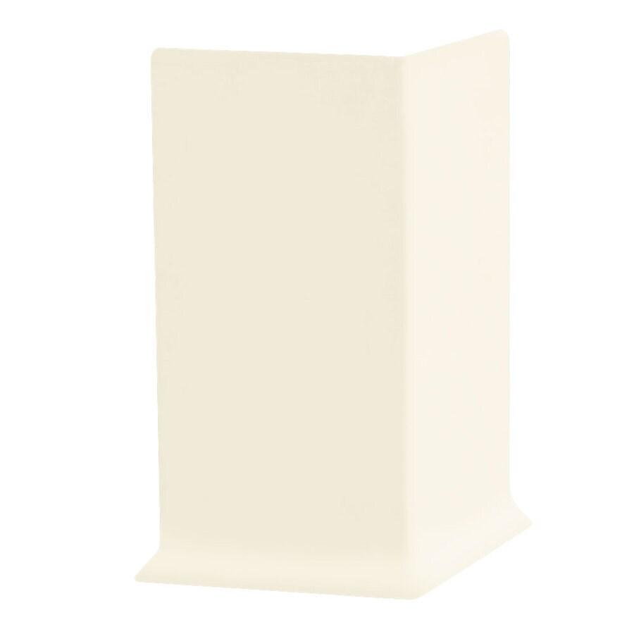 FLEXCO 30-Pack 4-in W x 0.25-ft L Baby Breath Rubber Outside Corner Wall Base