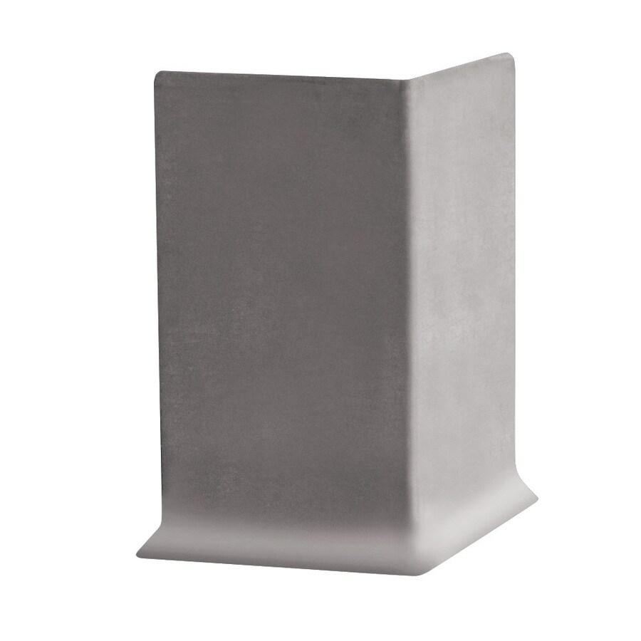 FLEXCO 30-Pack 4-in W x 0.25-ft L Pebble Rubber Outside Corner Wall Base