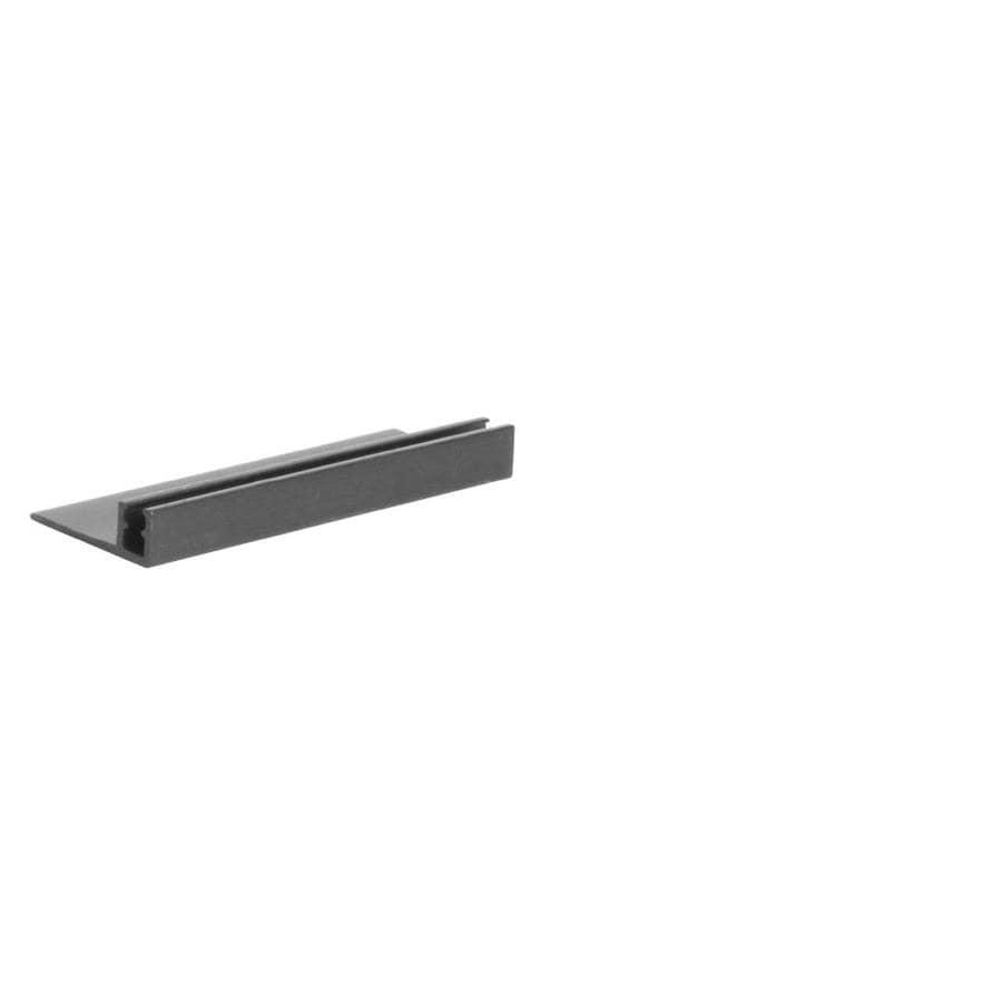 FLEXCO Flange Track 12-Pack 1.25-in x 12-ft Aluminum Snap-Down Divider Floor Transition Strip