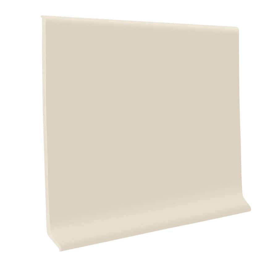 FLEXCO 30-Pack 4-in W x 4-ft L Almond Rubber Wall Base