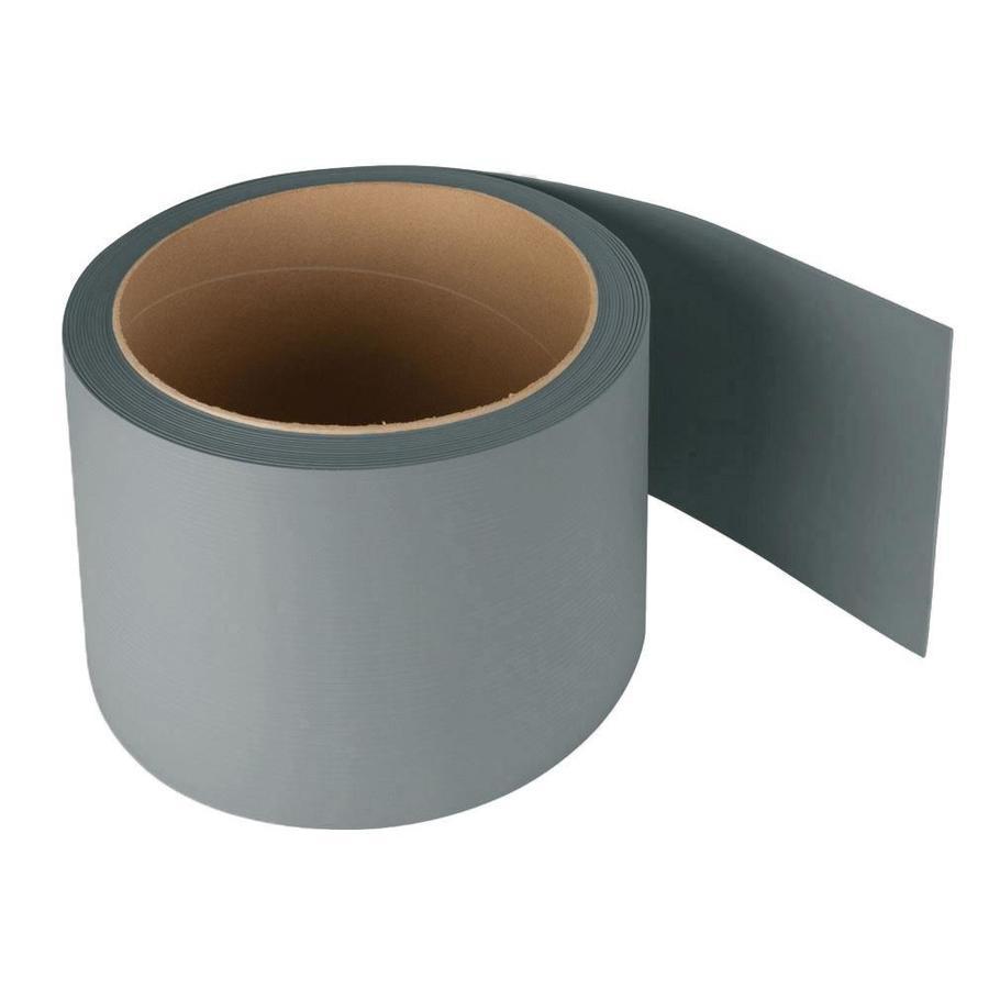 Shop FLEXCO Riser 7 In X 600 In Medium Gray Vinyl Stair Risers At