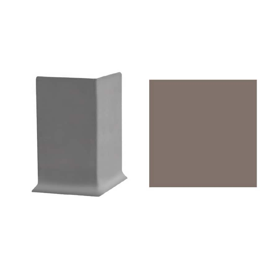 FLEXCO 30-Pack 3-in W x 3-in L Taupe Outside Corner Vinyl Wall Base