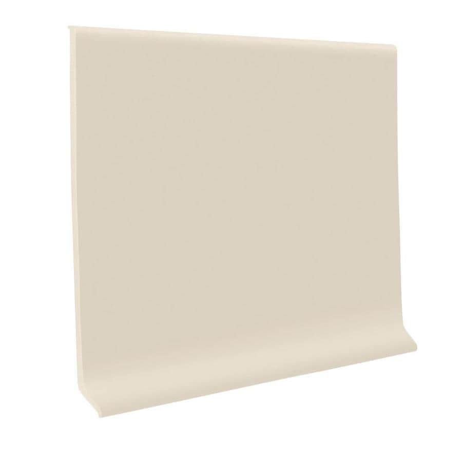 FLEXCO 30-Pack 2.5-in W x 4-ft L Almond Wall Base