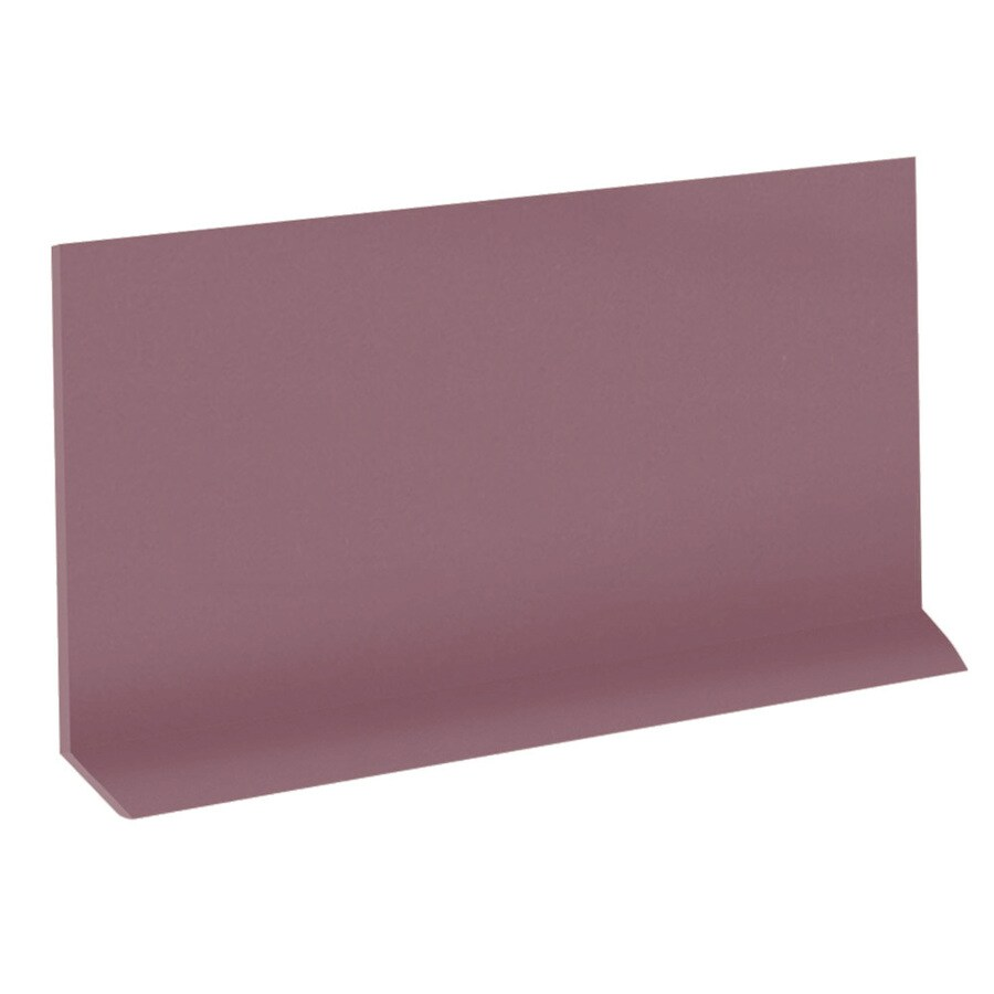 FLEXCO Riser 7-in x 42-in Plum Pudding Rubber Stair Risers
