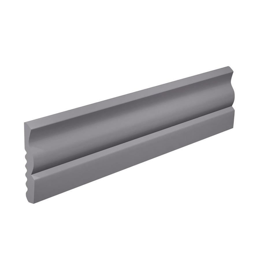 FLEXCO 2.625-in W x 40-ft L Gray Thermoplastic Rubber Wall Base