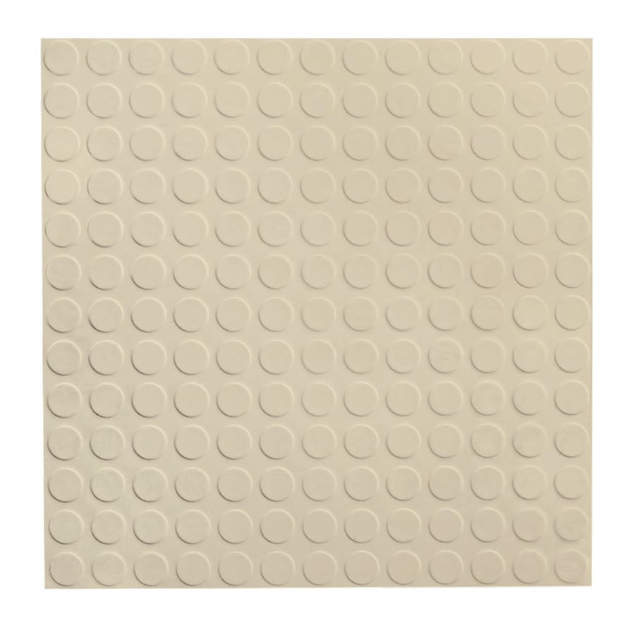 FLEXCO 18-in x 18-in Neutrail Full-Spread Adhesive Rubber Tile Multipurpose Flooring