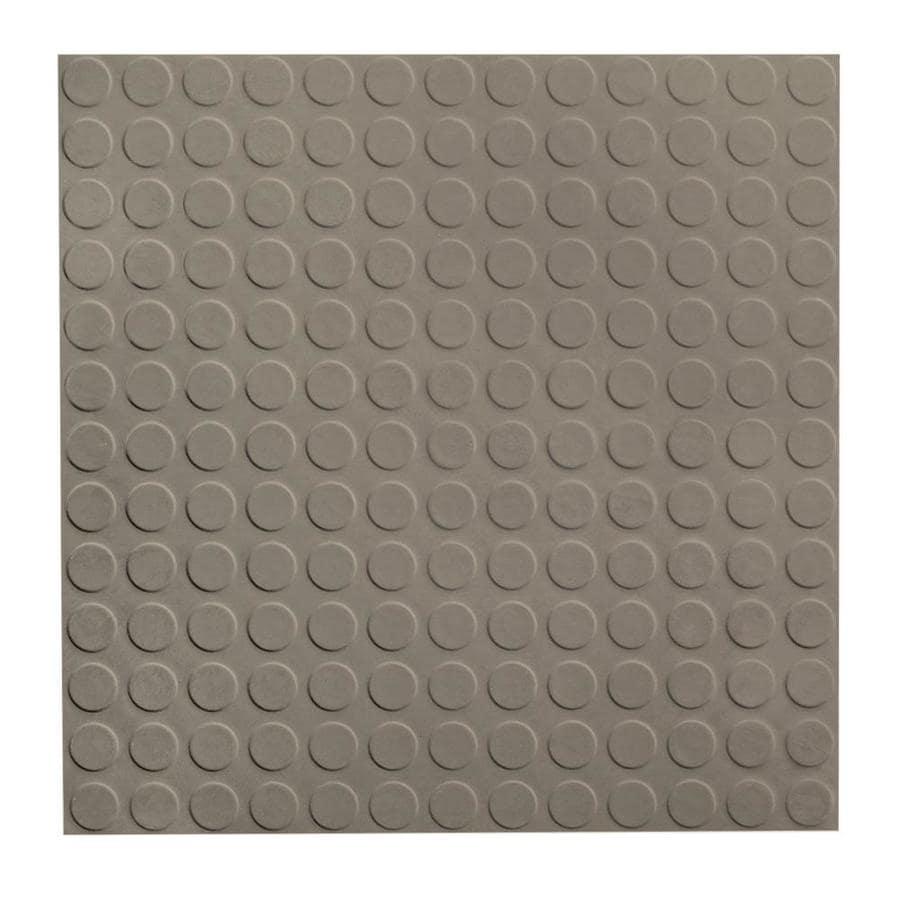 FLEXCO 18-in x 18-in Stone Full-Spread Adhesive Rubber Tile Multipurpose Flooring