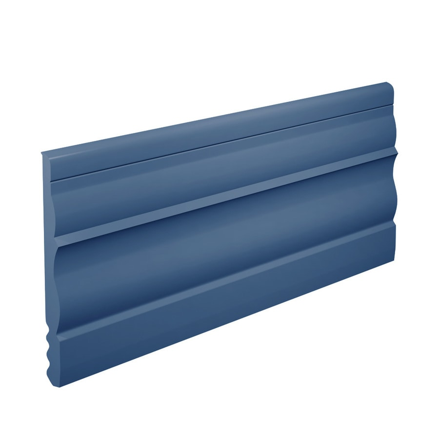 FLEXCO 4.5-in W x 40-ft L Blue Thermoplastic Rubber Wall Base