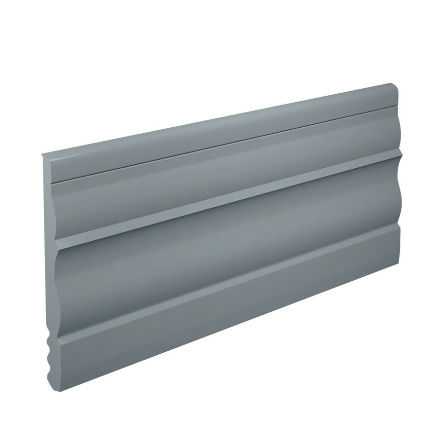 FLEXCO 4.5-in W x 40-ft L Medium Gray Thermoplastic Rubber Wall Base