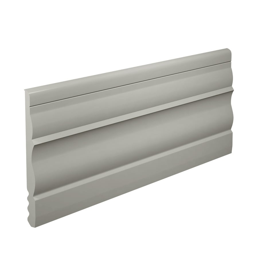 FLEXCO 4.5-in W x 40-ft L Light Gray Thermoplastic Rubber Wall Base