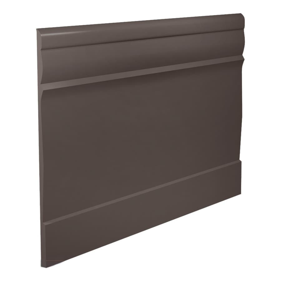 FLEXCO 7.75-in W x 40-ft L Bark Thermoplastic Rubber Wall Base