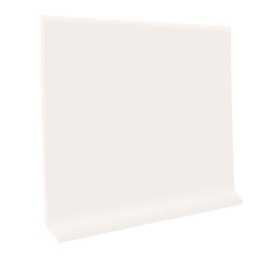 FLEXCO 4-in W x 120-ft L Arctic White Vinyl Wall Base