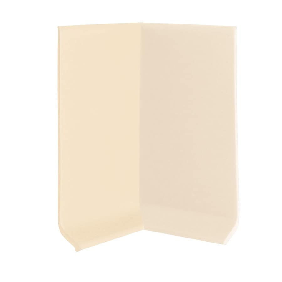 FLEXCO 30-Pack 2.5-in W x 0.25-ft L Almond Vinyl Inside Corner Wall Base
