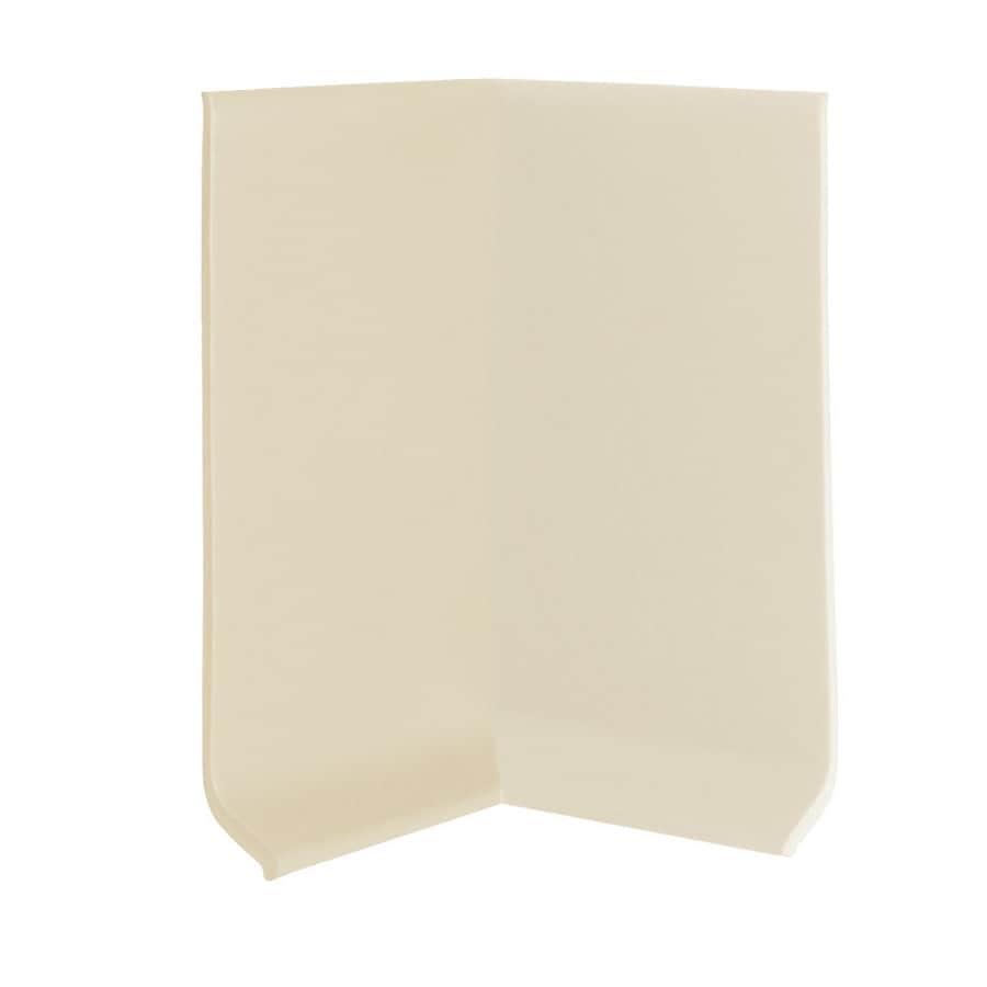 FLEXCO 30-Pack 4-in W x 0.25-ft L Neutrail Vinyl Inside Corner Wall Base