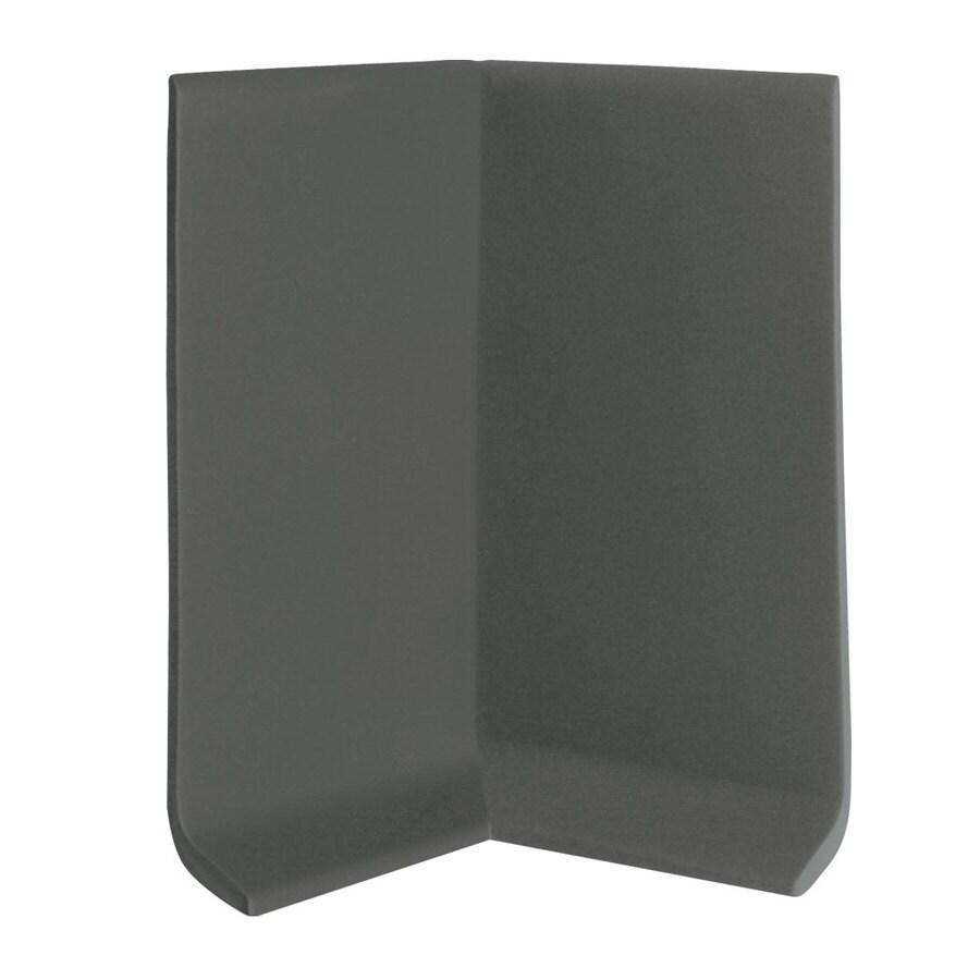 FLEXCO 30-Pack 4-in W x 0.25-ft L Black Brown Vinyl Inside Corner Wall Base