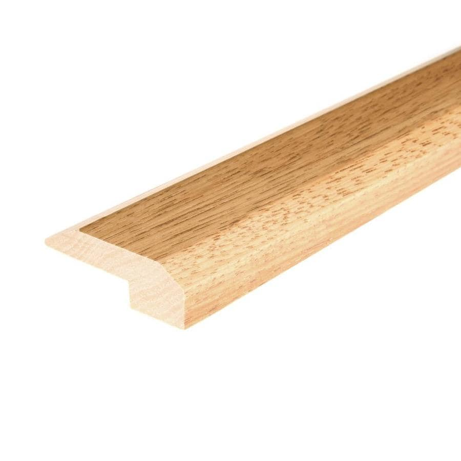 FLEXCO 2-in x 78-in Yukon Gold Hickory Threshold Floor Moulding