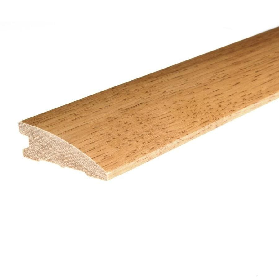 FLEXCO 2.25-in x 78-in Yukon Gold Hickory Reducer Floor Moulding