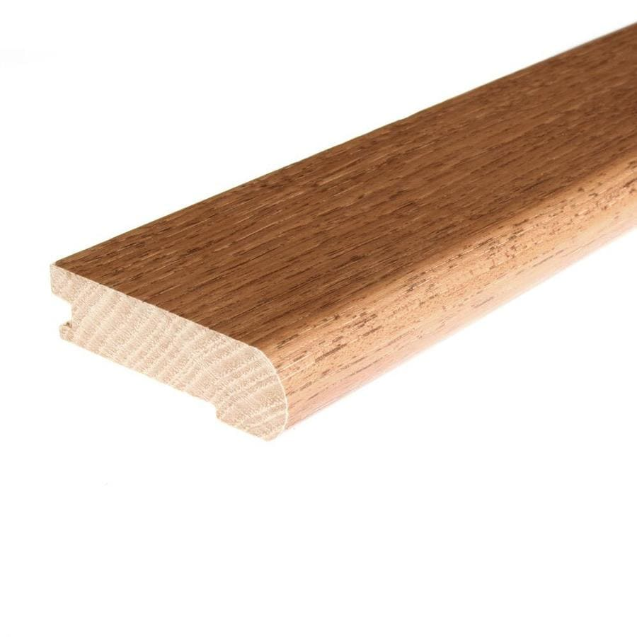 FLEXCO 3.5-in x 78-in Toffee Hickory Stair Nose Floor Moulding