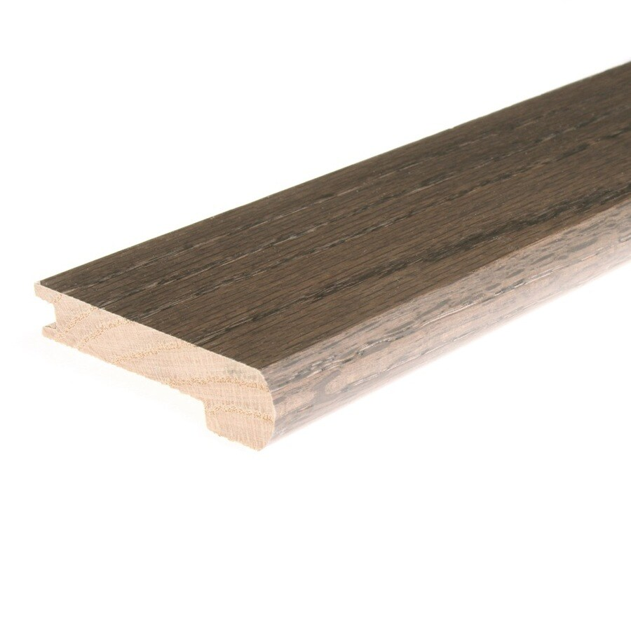 FLEXCO 3.125-in x 78-in Misty Ridge Oak Stair Nose Floor Moulding