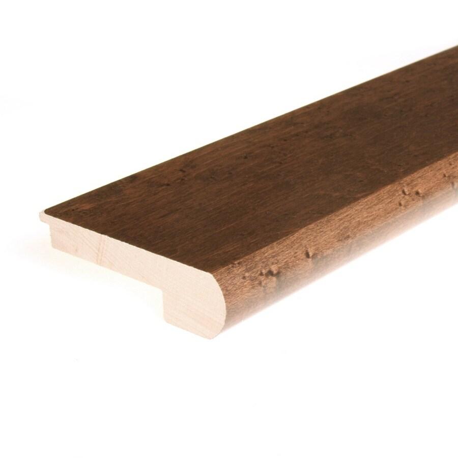 FLEXCO 3.12-in x 78-in Java Maple Stair Nose Floor Moulding