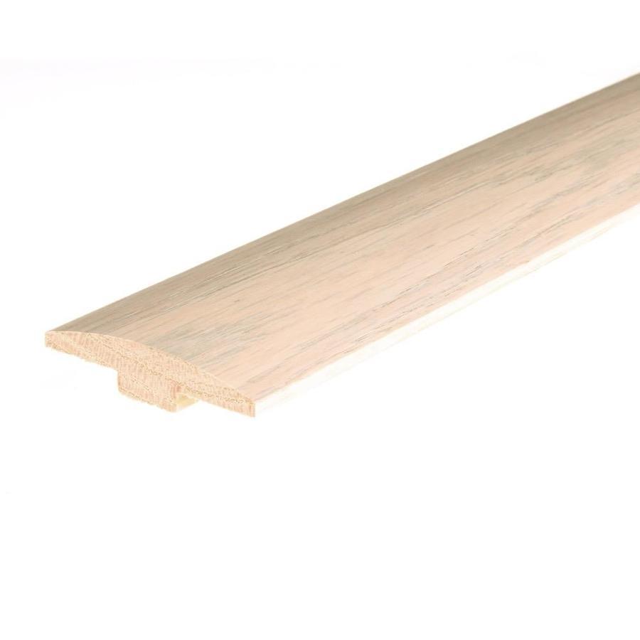 FLEXCO 2.4-in x 78-in Frost White White Oak T-Moulding Floor Moulding
