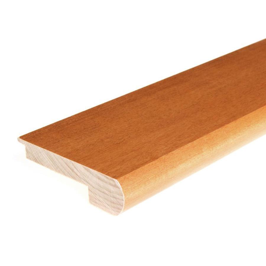 FLEXCO 3.12-in x 78-in Cinnamon Maple Stair Nose Floor Moulding