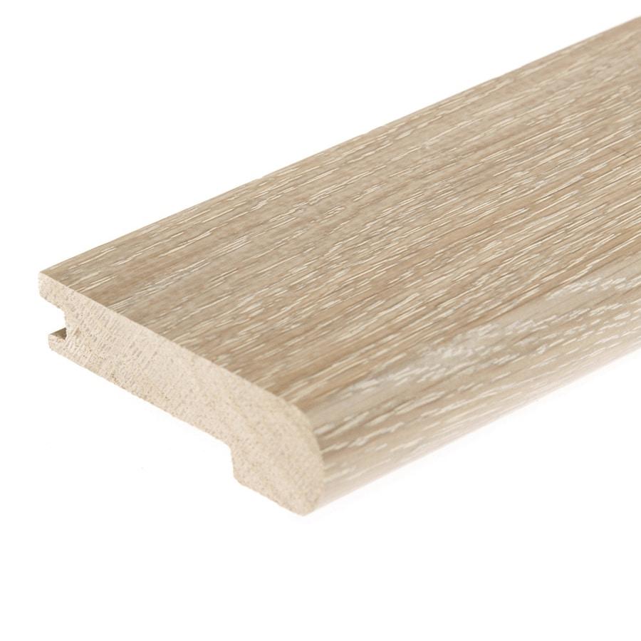 FLEXCO 3.125-in x 78-in Seashell White Oak Stair Nose Floor Moulding