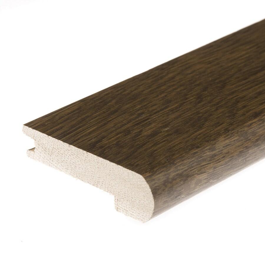 FLEXCO 3.125-in x 78-in Castlegate Oak Stair Nose Floor Moulding