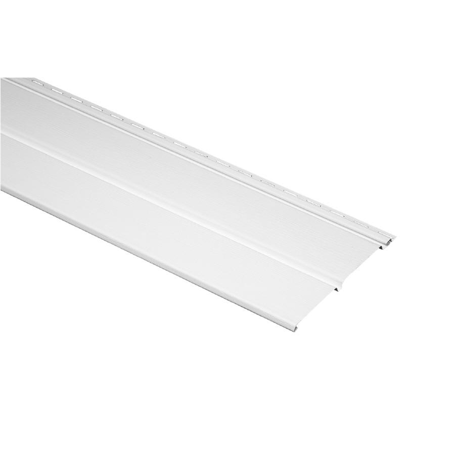 Durabuilt 10-in x 144-in White Soffit