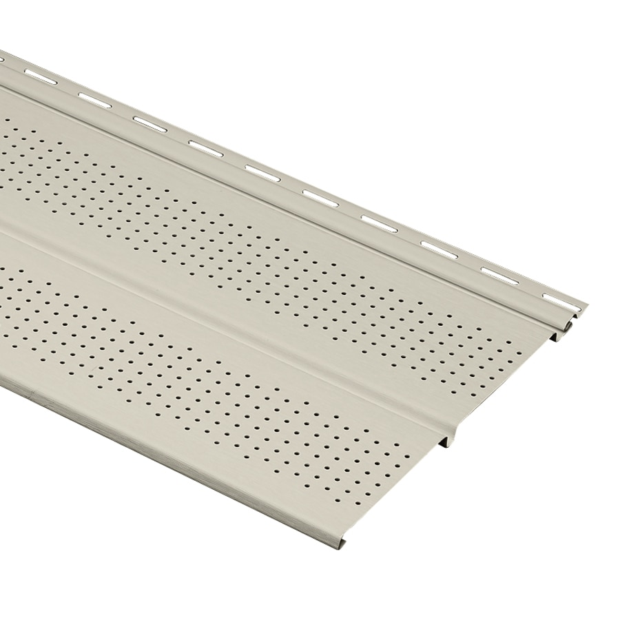 Durabuilt 10-in x 144-in Ivory Soffit