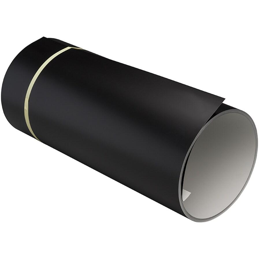 NAPCO 24-in x 600-in Black Trim Coil Metal Siding Trim