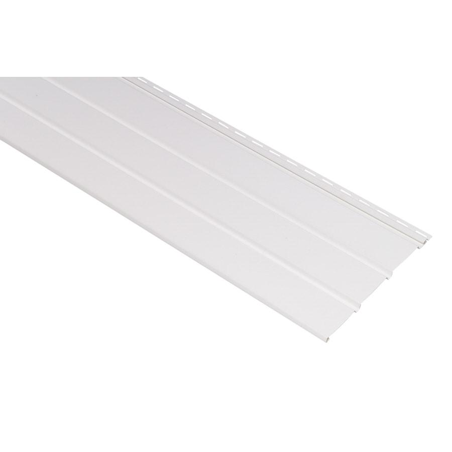 Durabuilt 12-in x 144-in White Soffit