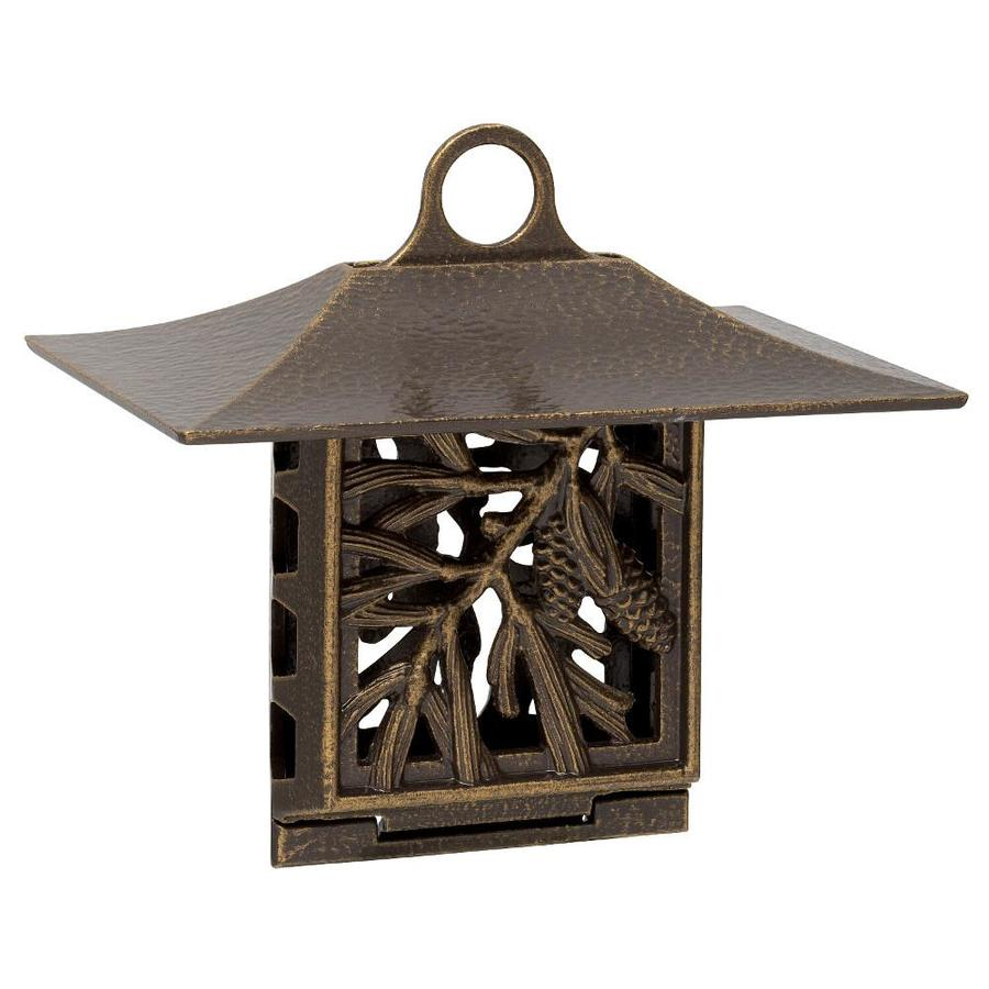 Whitehall French Bronze One-Cake Metal Suet Feeder