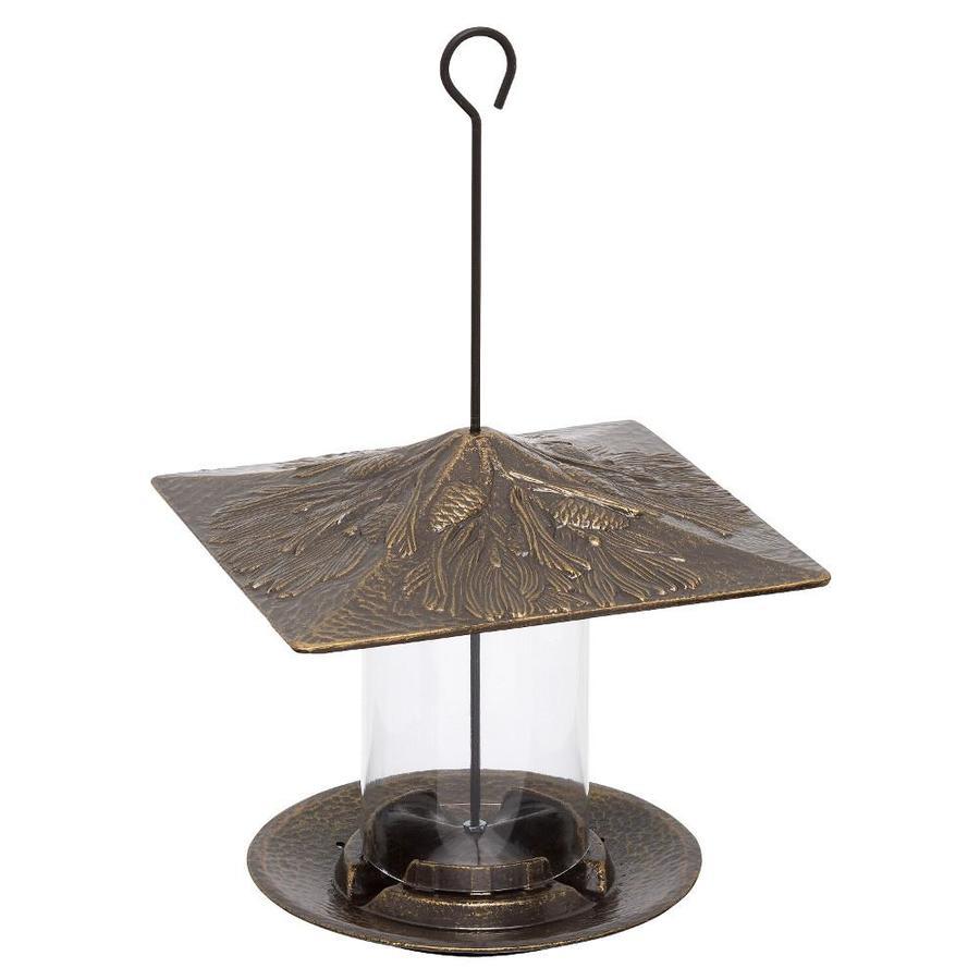 Whitehall French Bronze Metal Tube Bird Feeder